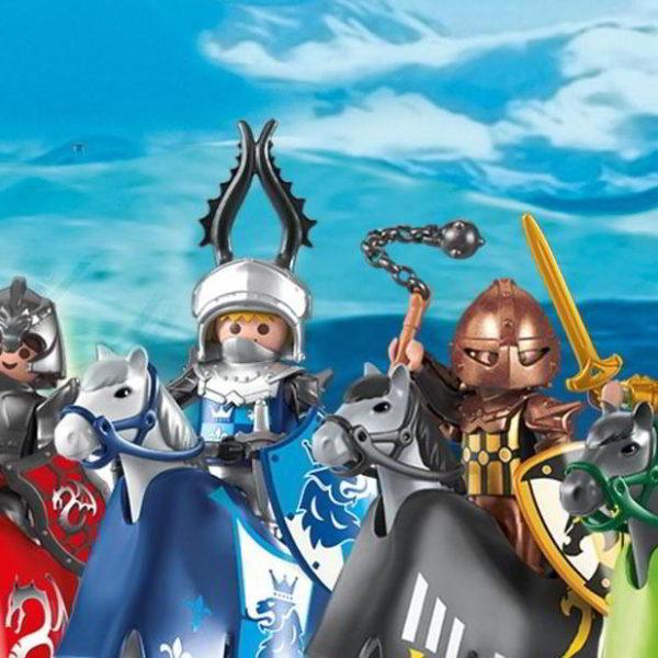 Exposition temporaire Playmobil « Une autre histoire du Moyen Age »